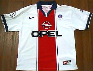 1a46892e9 PARIS SAINT-GERMAIN 1997 98 Away Nike Jersey -UEFA Champions League- FRANCE  - France national