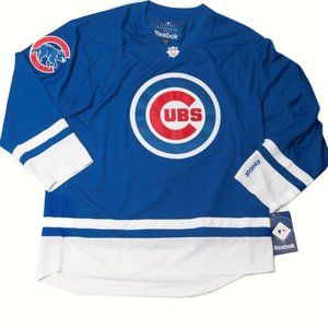 Chicago Cubs Premier Hockey Jersey by Reebok - Very Rare  d109c11d32f
