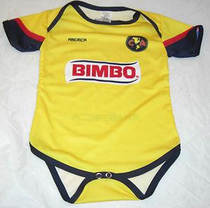 wholesale dealer d7d64 d2426 team America Aguilas baby uniform Mexico football 100 ...