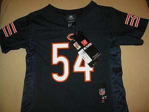 629fb357 TODDLER kids 4T NFL LICENSED PLAYERS wear URLACHER CHICAGO BEARS ...