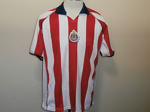 buy popular d21bf 1cde3 CHIVAS GUADALAJARA MEXICO football JERSEY REPLICA BY CAFU ...