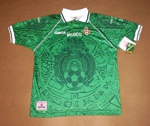 c6c124157 VINTAGE club Mexico football JERSEY Football MEXICAN Futbol GARCIS New With  Tag XTRA LARGE - Mexico national