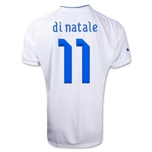 official photos d056b 7c420 Italy 12/14 Antonio Di Natale Away football Jersey - Italy ...