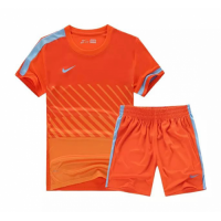 NK-509 Customize Team Orange Soccer Jersey Kit(Shirt+Short)