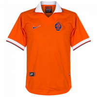 1997-98 Netherlands Retro Home Soccer Jersey Shirt