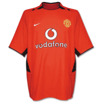 02-03 Manchester United Home Retro Jersey Shirt