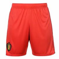 2018 World Cup Belgium Home Red Jersey Short