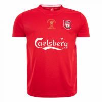 2005 Liverpool Champion League Red Retro Jersey Shirt