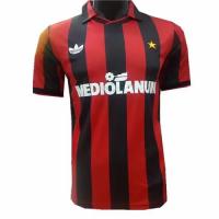 91-92 AC Milan Retro Home Soccer Jersey Shirt