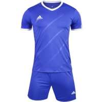 1601 Customize Team Blue Soccer Jersey Kit(Shirt+Short)
