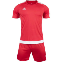 1602 Customize Team Red Soccer Jersey Kit(Shirt+Short)