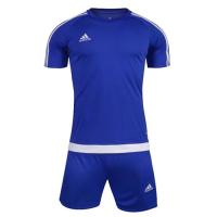 1602 Customize Team Blue Soccer Jersey Kit(Shirt+Short)