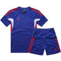 AD-501 Customize Team Blue Soccer Jersey Kit(Shirt+Short)