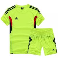 AD-501 Customize Team Green Soccer Jersey Kit(Shirt+Short)
