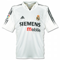 04-05 Real Madrid Retro Home Soccer Jersey Shirt