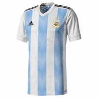 2018 World Cup Argentina Authentic Home Soccer Jersey Shirt