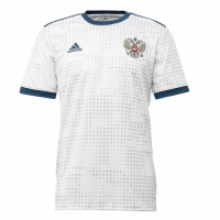2018 World Cup Russia Authentic Away White Soccer Jersey Shirt
