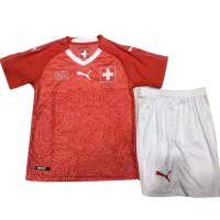 2018 Switzerland Home Children's Jersey Kit(Shirt+Short)