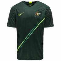 2018 World Cup Australia Away Green Soccer Jersey Shirt