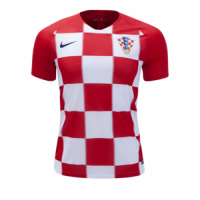 2018 World Cup Croatia Home Red Jersey Shirt