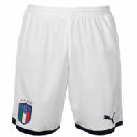 2018 World Cup Italy Home White Jersey Short