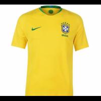 2018 Brazil Home Yellow soccer Jersey Shirt