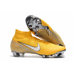 NK Mercurial Superfly VI 360 Elite Neymar FG Soccer Cleats-Yellow