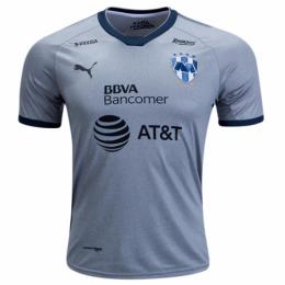 2018 Monterrey Third Away Gray Soccer Jersey Shirt