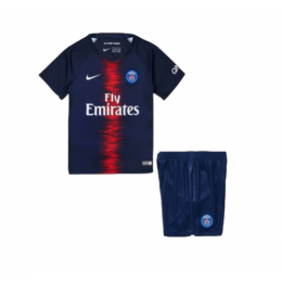 18-19 PSG Home Navy Children's Jersey Kit(Shirt+Short)