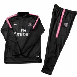Kids 18-19 PSG Pink Sweat Shirt Kit(Top+Trouser)