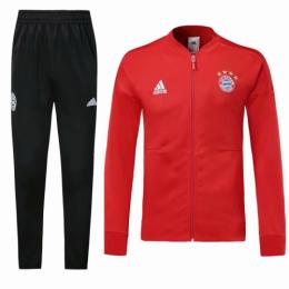 18-19 Bayern Munich Red Training Kit(Jacket+Trouser)