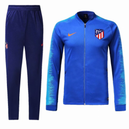 18-19 Atletico Madrid Blue Training Kit(Jacket+Trouser)