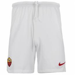 18-19 Roma Away Gray Soccer Jersey Short