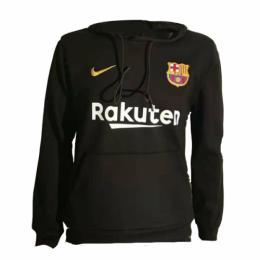 18-19 Barcelona Black Hoody Sweater