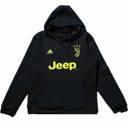18-19 Juventus Black Hoody Sweater