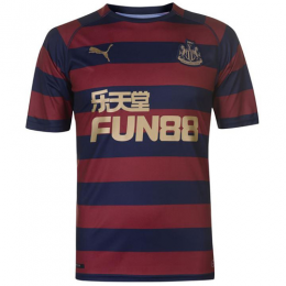 18-19 Newcastle United Away Black&Red Soccer Jersey Shirt