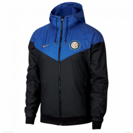 18-19 Inter Milan Blue&Black Hoody Jacket