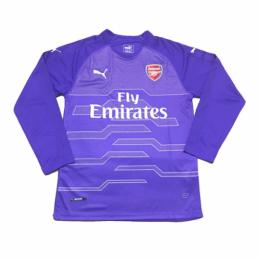 3fa3d5e4f 18-19 Arsenal Goalkeeper Purple Long Sleeve Soccer Jersey Shirt