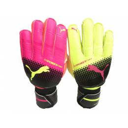 PUMA evoPOWER 2 Grip Pink&Green Goalkeeper Glove