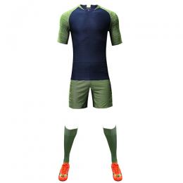Customize Team Green Player Version Soccer Jerseys Whole Kit(Shirt+Short+Socks)