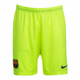 18-19 Barcelona Away Green Soccer Jersey Short(Player Version)
