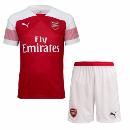 18-19 Arsenal Home Soccer Jersey Kit(Shirt+Short)