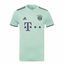 18-19 Bayern Munich Away Mint Green Jersey Shirt(Player Version)