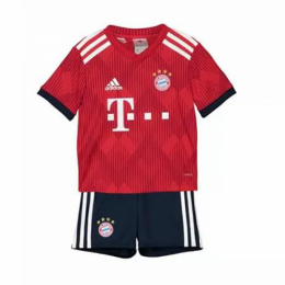18-19 Bayern Munich Home Children's Jersey Kit(Shirt+Short)