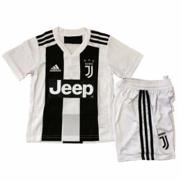 18-19 Juventus Home Children's Jersey Kit(Shirt+Short)