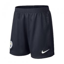 18-19 Manchester City Away Black Jersey Short