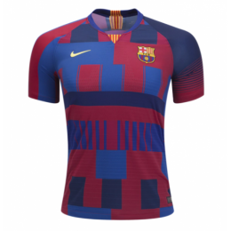 18-19 Barcelona 20th Anniversary Home Jersey Shirt(Player Version)