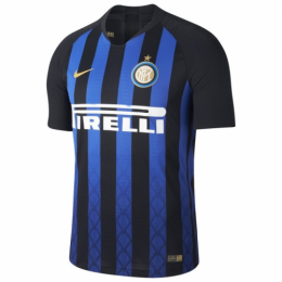 18-19 Inter Milan Home Navy&Black Soccer Jersey Shirt(Player Version)