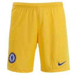 18-19 Chelsea Away Yellow Soccer Jersey Short