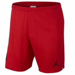 18-19 PSG JORDAN 3rd Away Goalkeeper Red Soccer Jersey Short